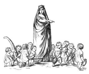 Working Children - Orphans - Orphelins