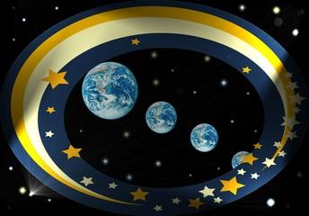 Die Erde - immer in Bewegung