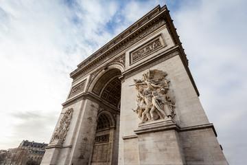 Fotomurales - Arc de Triomphe in Paris - France