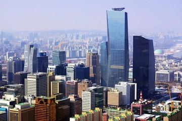 Aluminium Prints Seoul City of Seoul Korea