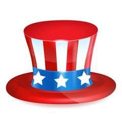 4 of July celebration hat icon