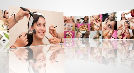 Mur de maquillage 6
