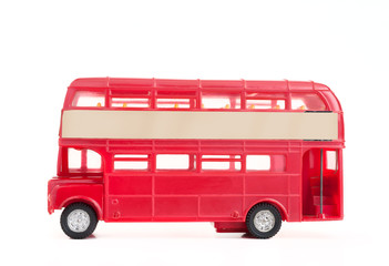 Printed roller blinds London red bus Old english bus