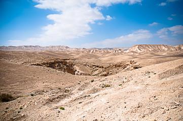 Desert mountains .