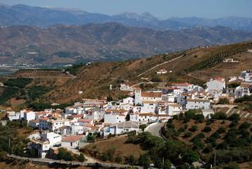White village, Iznate, Andalusia © Arena Photo UK