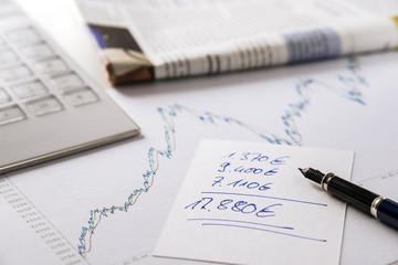 stock exchange earnings