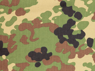 Japanese armed force flecktarn camouflage fabric texture backgro