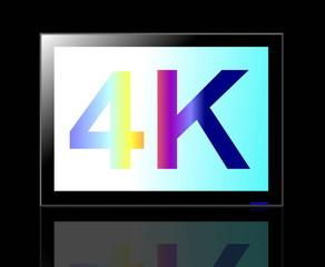 4K TV high resolution