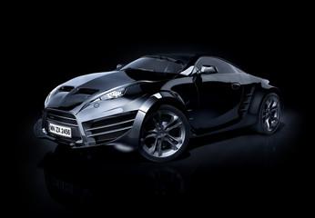 Brandless sports car
