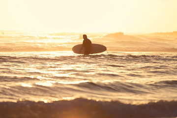 surfer in Burleigh Heads