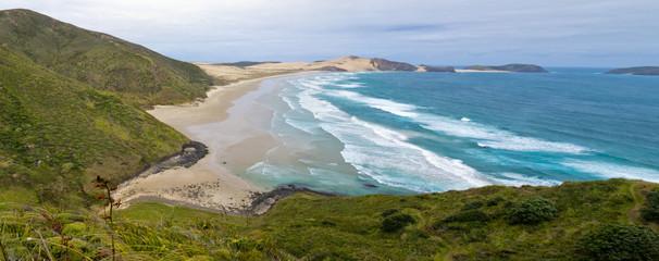 Aluminium Prints New Zealand Northland sand beach near Cape Reinga New Zealand