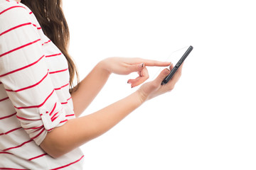 Young Businesswoman with Digital Tablet