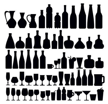 beverage and glass icons