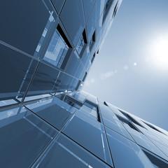 Fotobehang Aan het plafond Abstract architecture