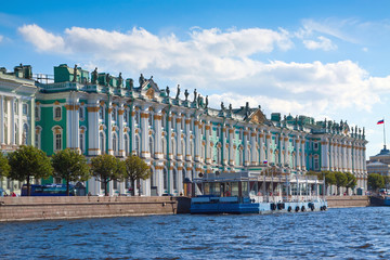 View of St. Petersburg. Winter Palace