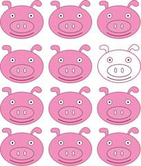 Piglet background