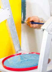 Malen und Streichen