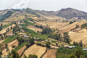 Village on the hills