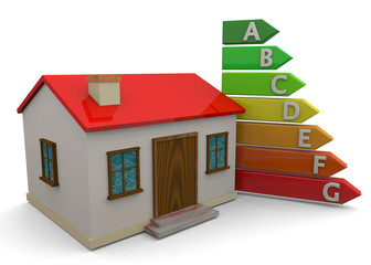 HOUSE - ENERGY SAVING - 3D