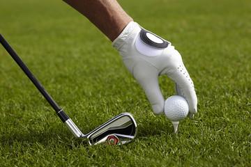 Zelfklevend Fotobehang Golf Golf
