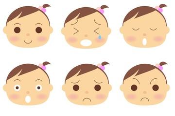 赤ちゃん 女の子 顔