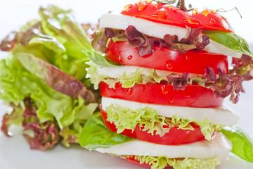 Delicious fresh Caprese Salad