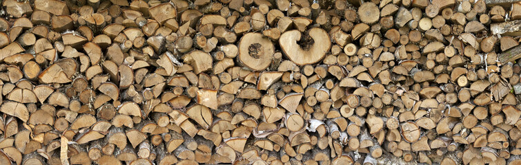 Fotobehang Brandhout textuur Texture logs
