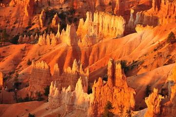 Panorama of Bryce Canyon Utah USA