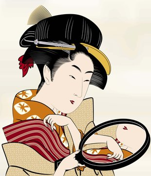 浮世絵 江戸美人画14