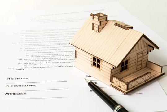Real estate sale