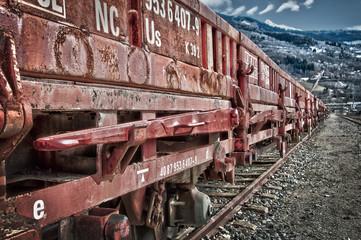 Train de marchandises HDR