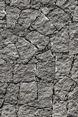 Texture of the black volcanic rock wall from Lanzarote, Canary I