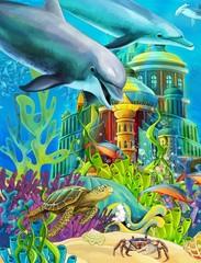 The underwater castle - princess series