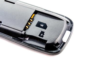 Slot for SIM cards