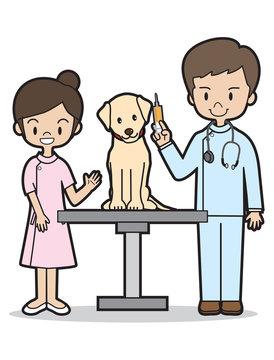 ペットの注射