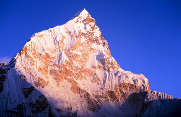Wall Mural - Lhotse Sunset