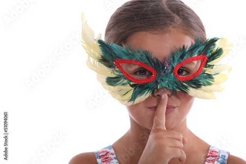 photo of girls with mask № 22462
