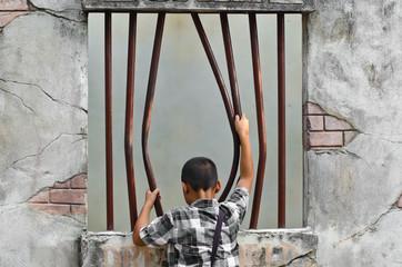 Prison break..