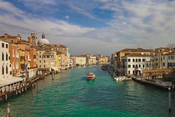 Venedig Blick von der Ponte degli Scalzi