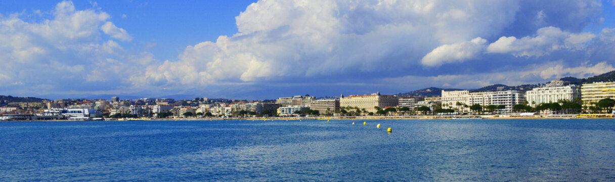 panorama de Cannes
