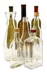 bottles for wine and spirits.