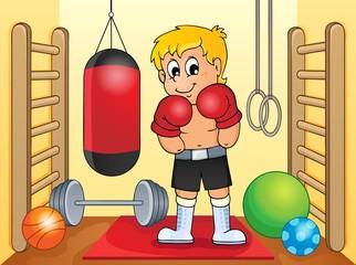 Sport and gym theme image 6