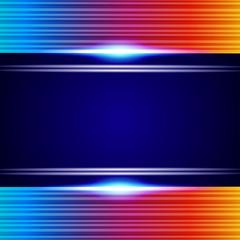 Rainbow Lines Background.