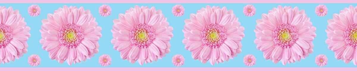 Poster de jardin Gerbera Dekoration - Seamless