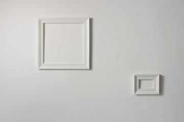 weiße Rahmen