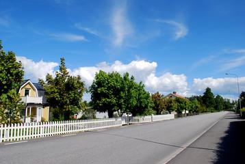 Dorf in Skandinavien