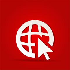 go to web icon design