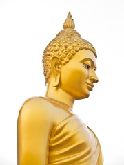 Gold Buddha at Phutthamonthon in Thailand2