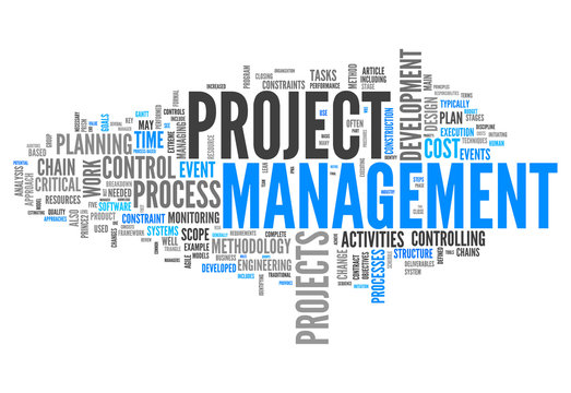 "Word Cloud ""Project Management"""