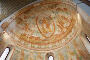 Cripta degli affreschi, interno Basilica di Aquileia